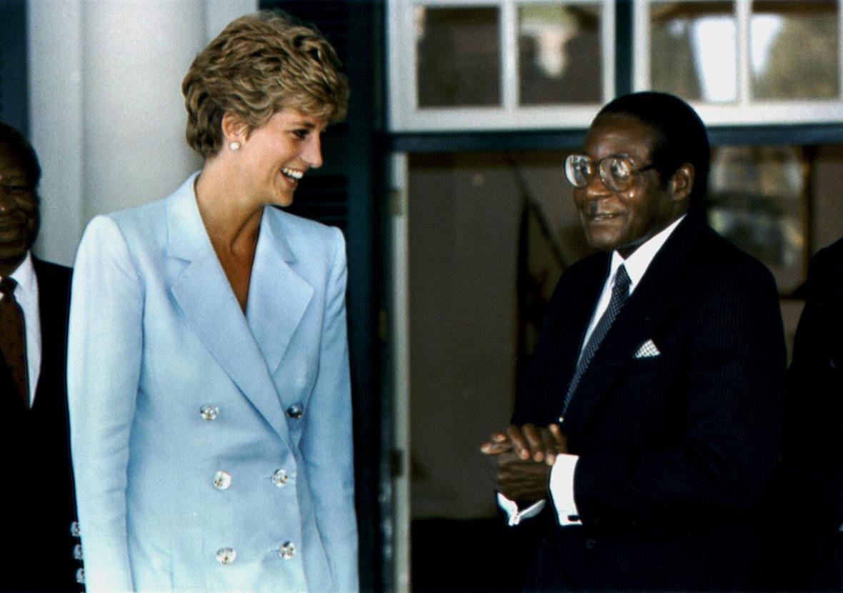 Bývalý zimbawský prezident Robert Mugabe