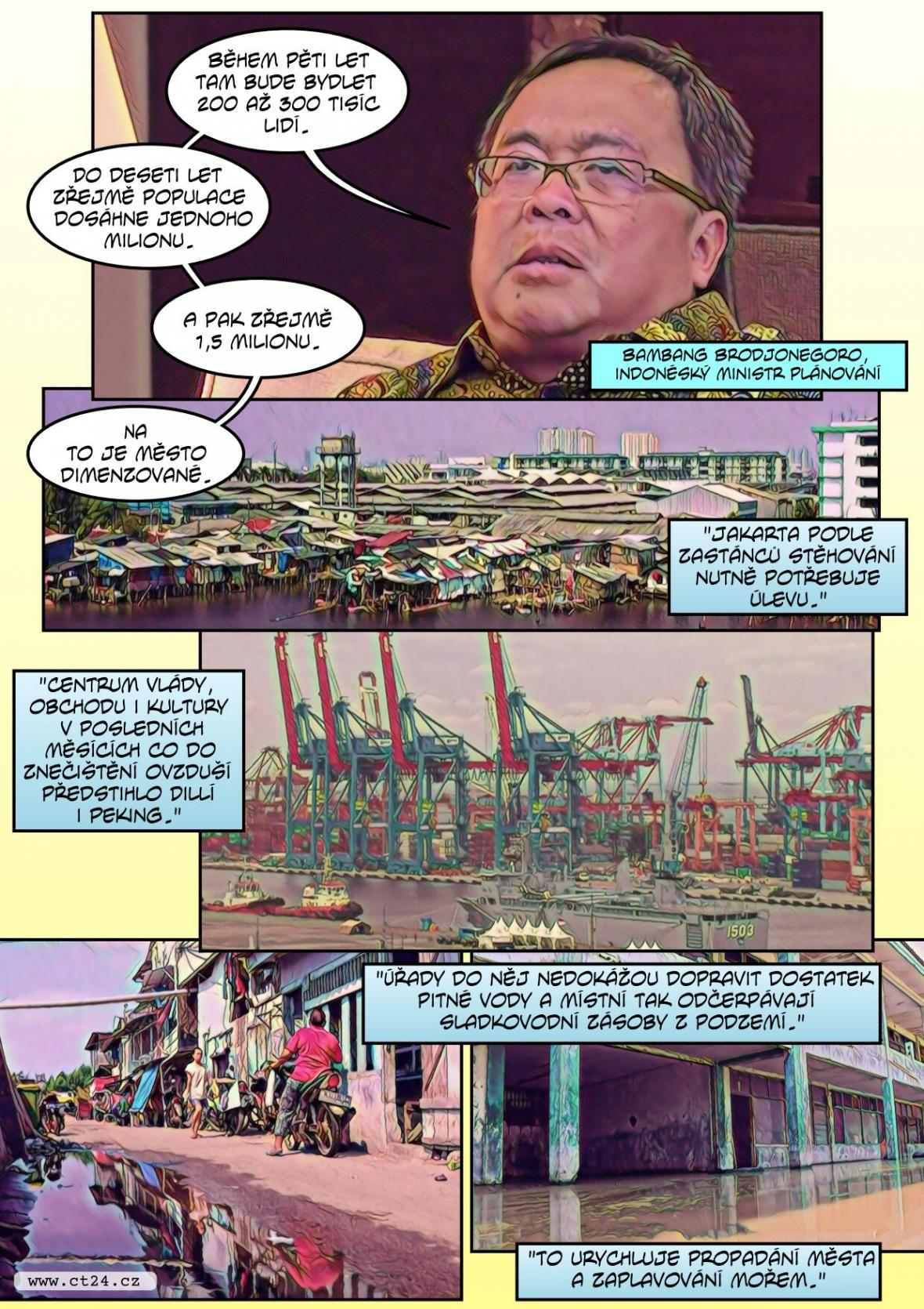 Jakarta se stěhuje