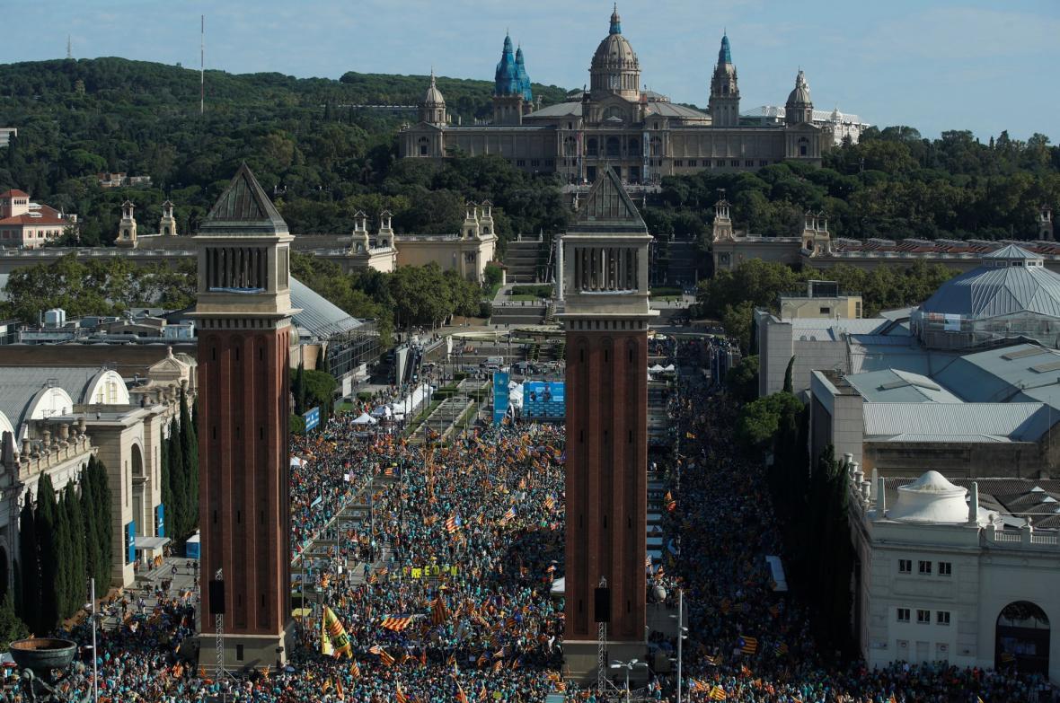 La Daida dnem všech katalánců
