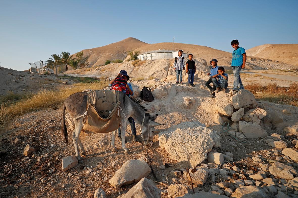 Údolí Jordánu, které chce anektovat Benjamin Netanjahu