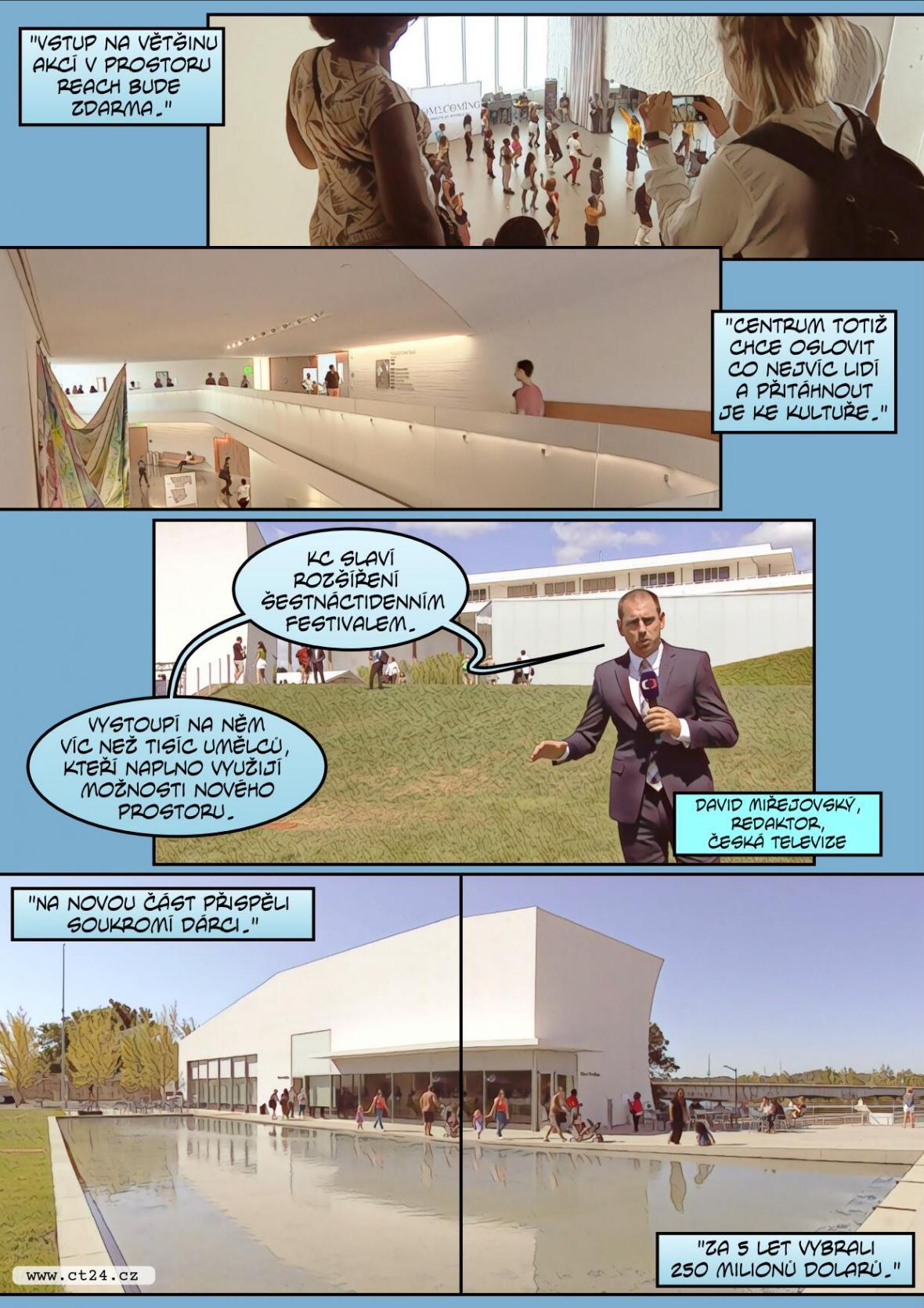 Nové kulturní Kenndedyho centrum