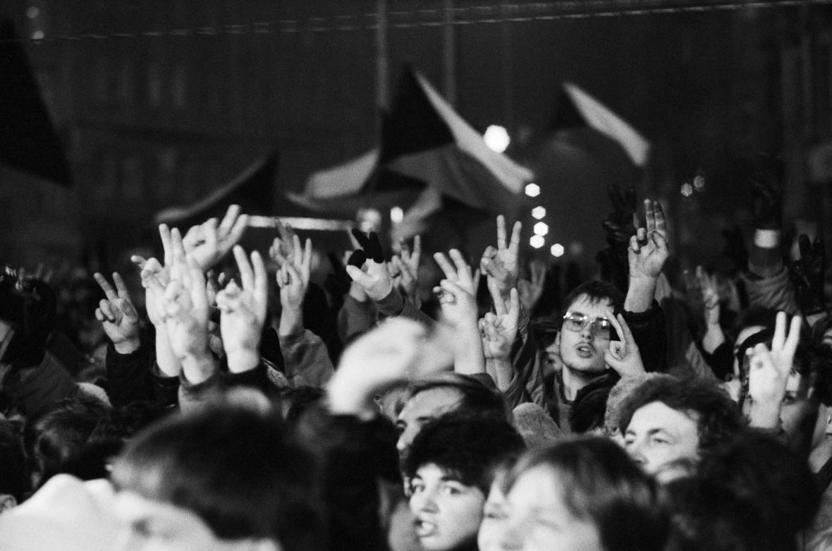 Sametová revoluce v Brně