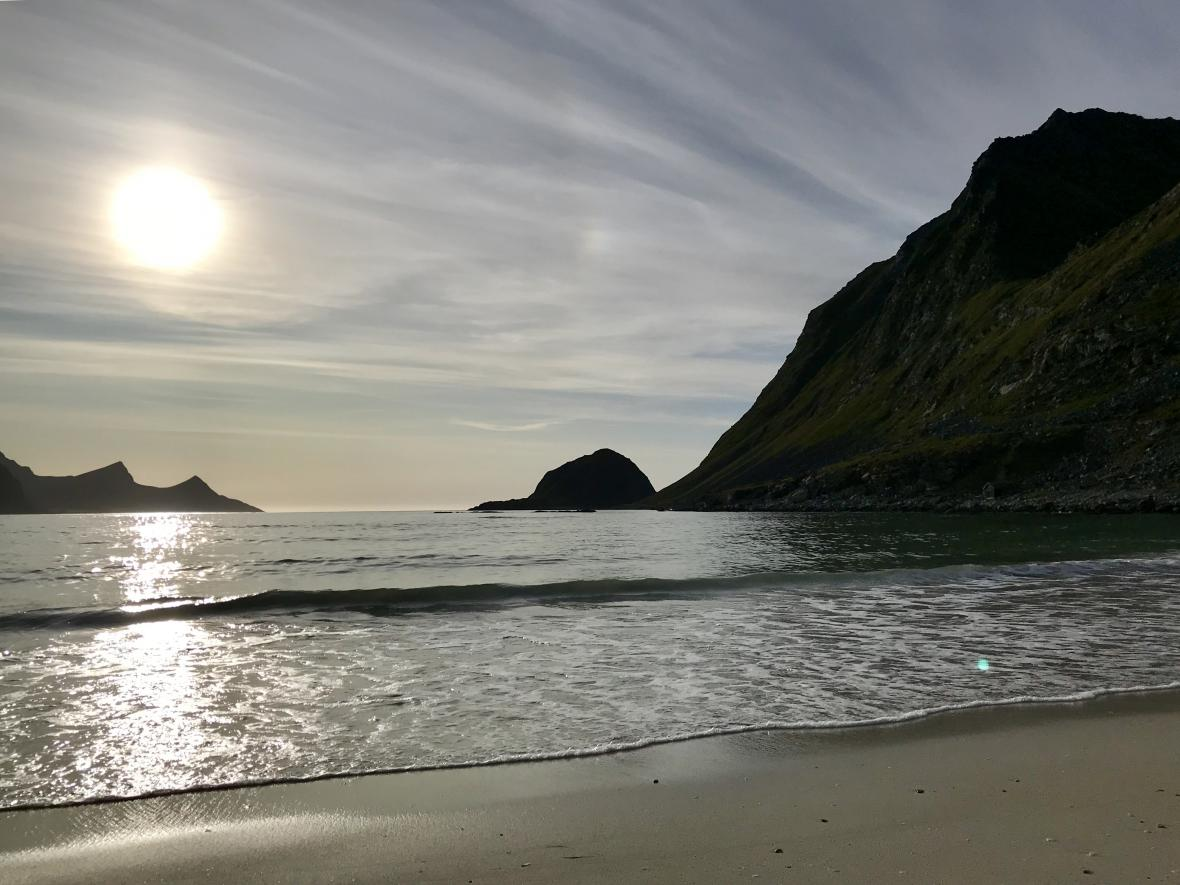 Pláž Haukland