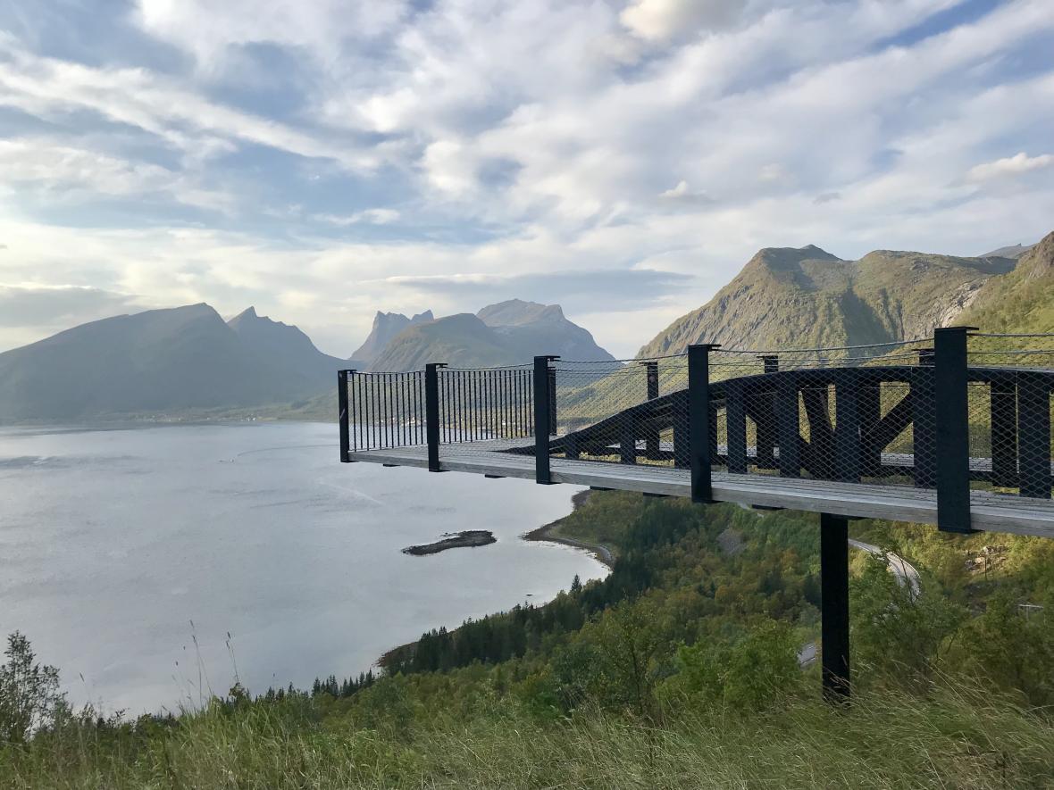 Vyhlídka u Bergsbotnu
