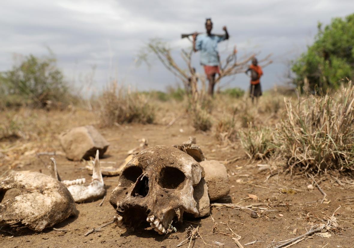 Lidé kmene Turkana