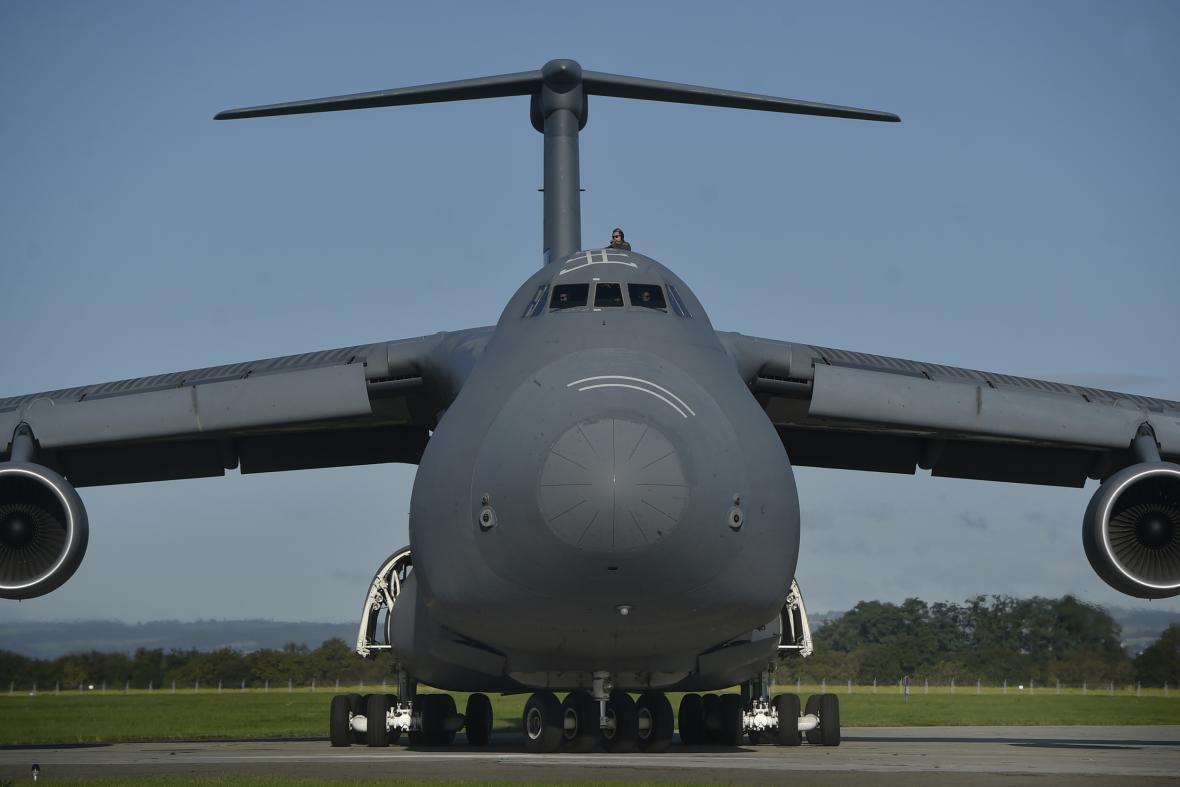Na zahájení Dnů NATO v Mošnově už čeká letoun C-5M Super Galaxy i bombardér B-52