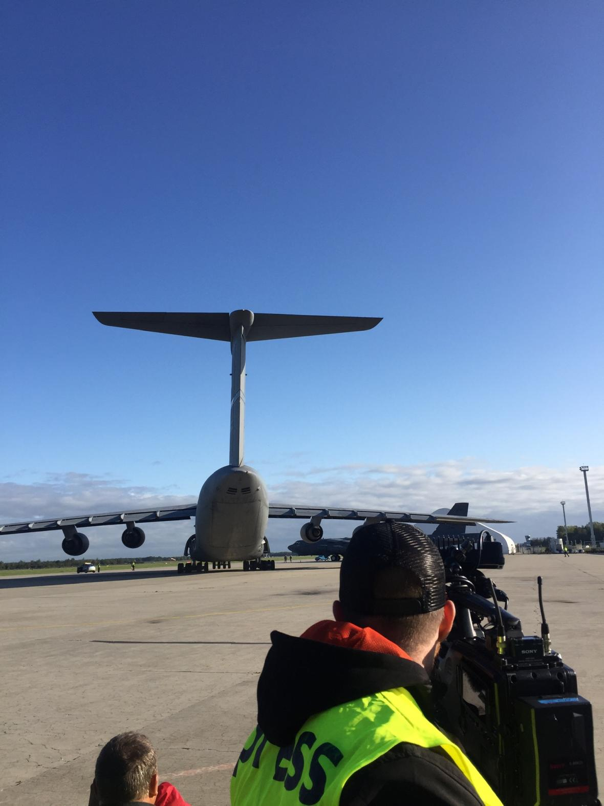 Americký transportní letoun C-5M Super Galaxy