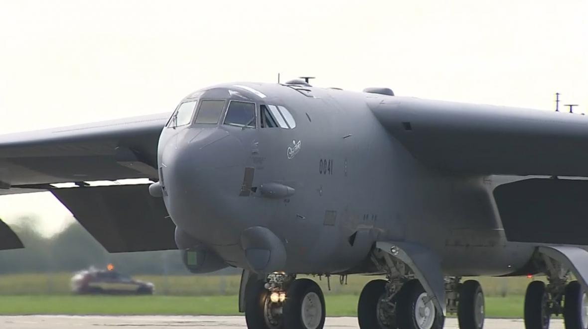 Americký bombardér B-52 Stratofortress