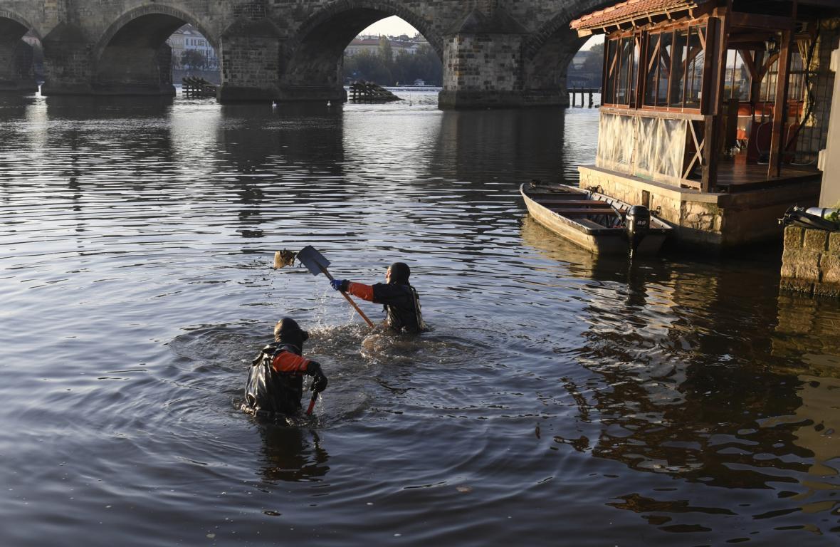 Centrum Prahy se cvičně připravuje na velkou vodu