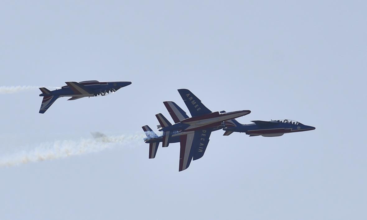 Ostravské letiště zaplnily letouny NATO