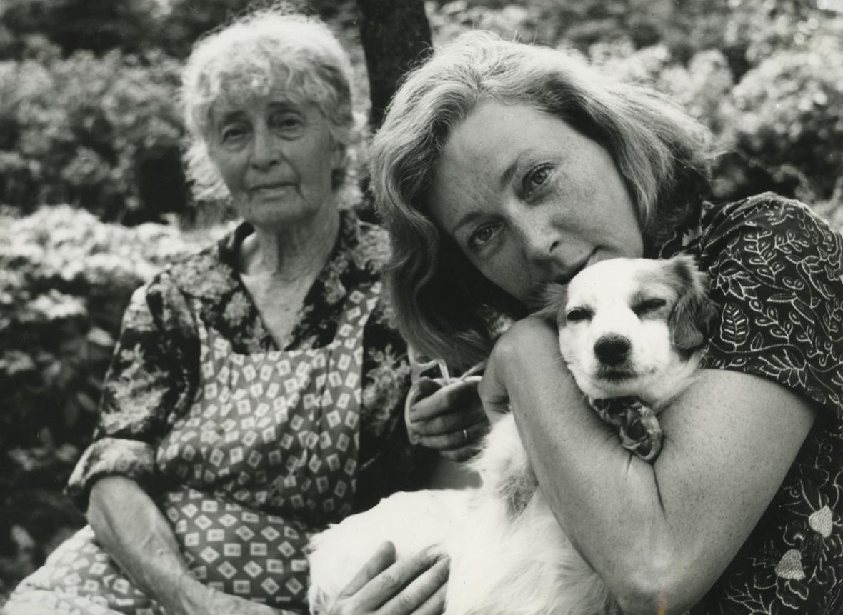 Z rodinného alba Květy Fialové