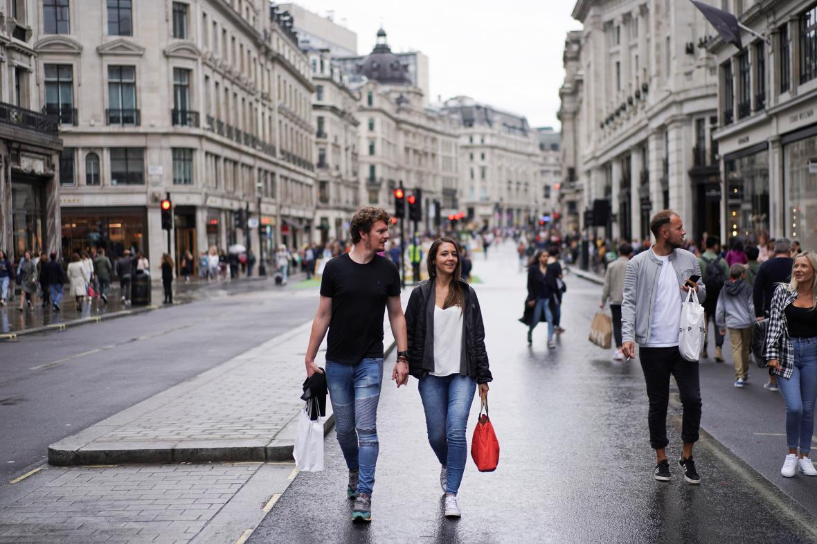 Lidé v Londýně si užili den bez aut