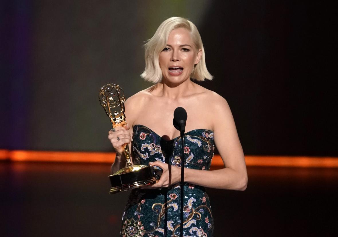 Nejlepší herečka v minisérii / televizním filmu Michelle Williamsová (Fosse/Verdon)