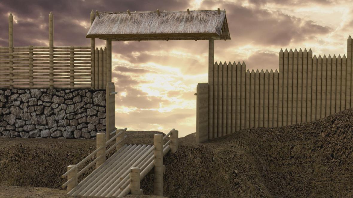 Vizualizace archeoparku Cezavy