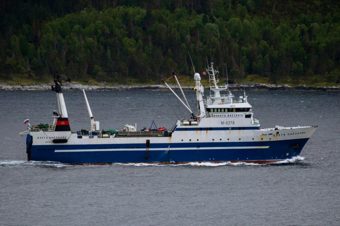 V norském přístavu města Tromso se potopila rybářská loď Bukhta Naezdnik