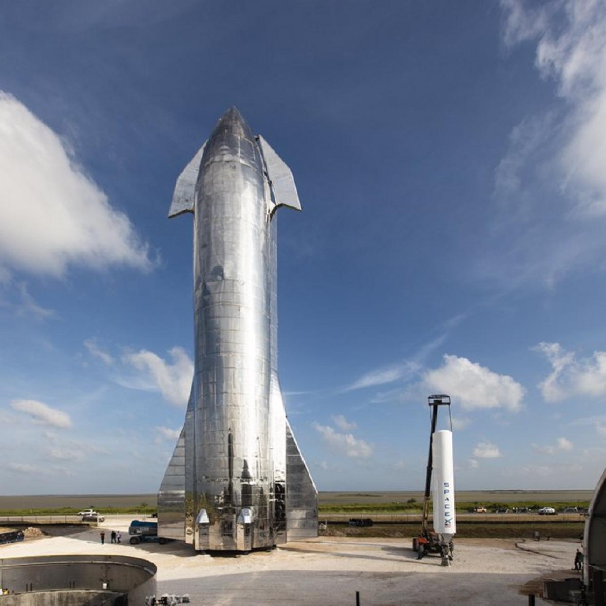 Prototyp kosmické lodi Starship