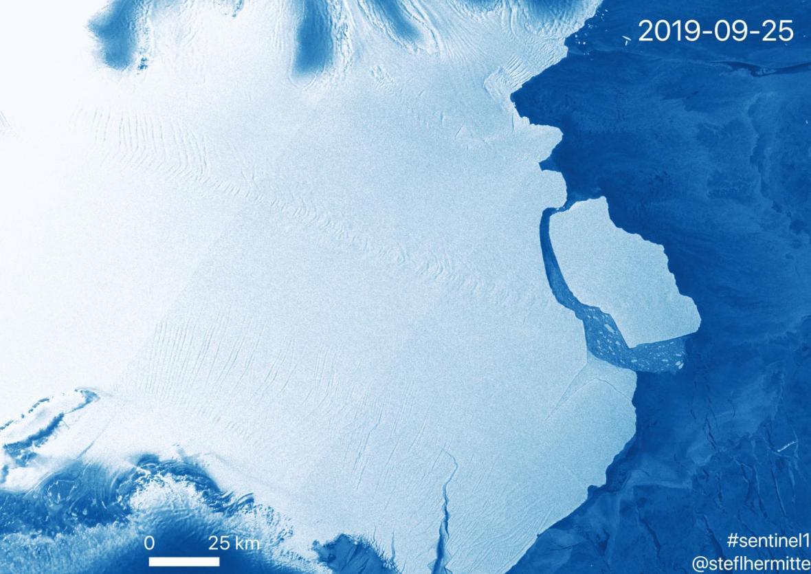 Změna ledovce D28