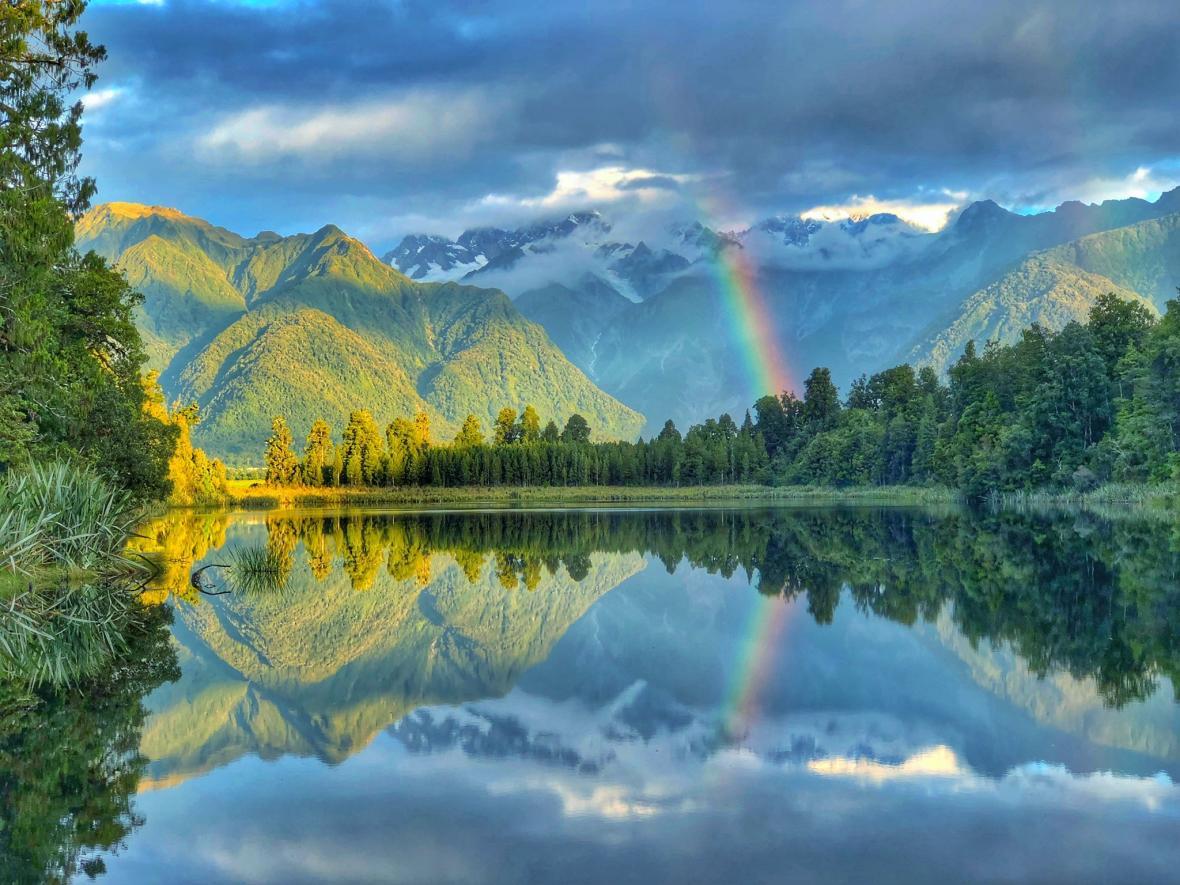Jezero Matheson, Nový Zéland