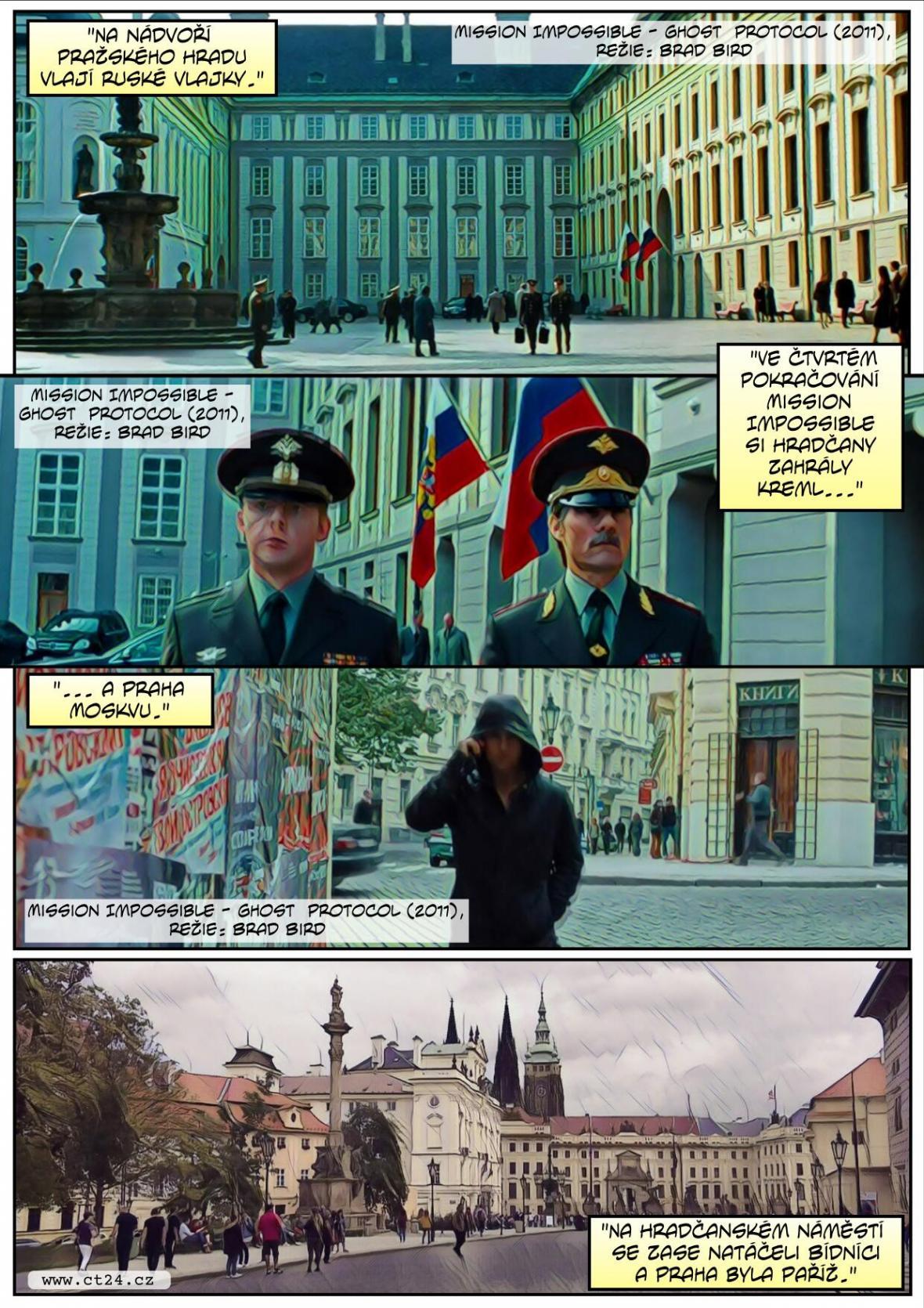 Praha platí filmařům za to, že vypadá jako... Praha