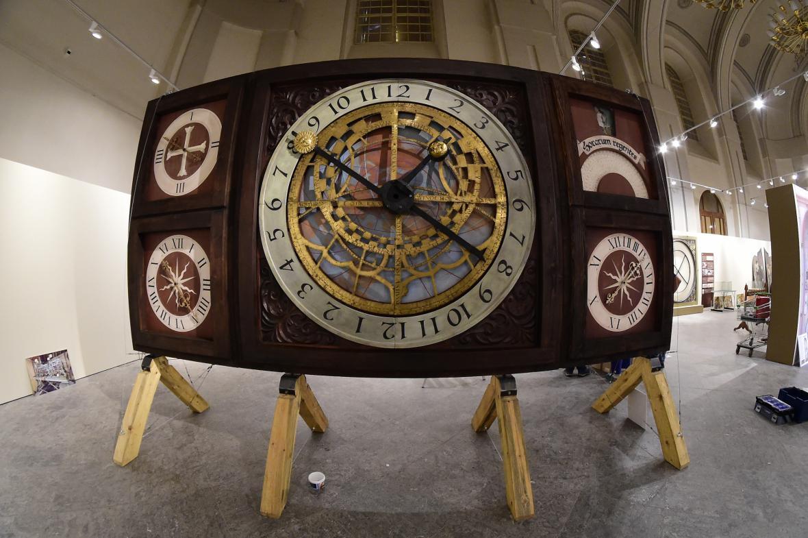 Výstava k 500. výročí olomouckého orloje