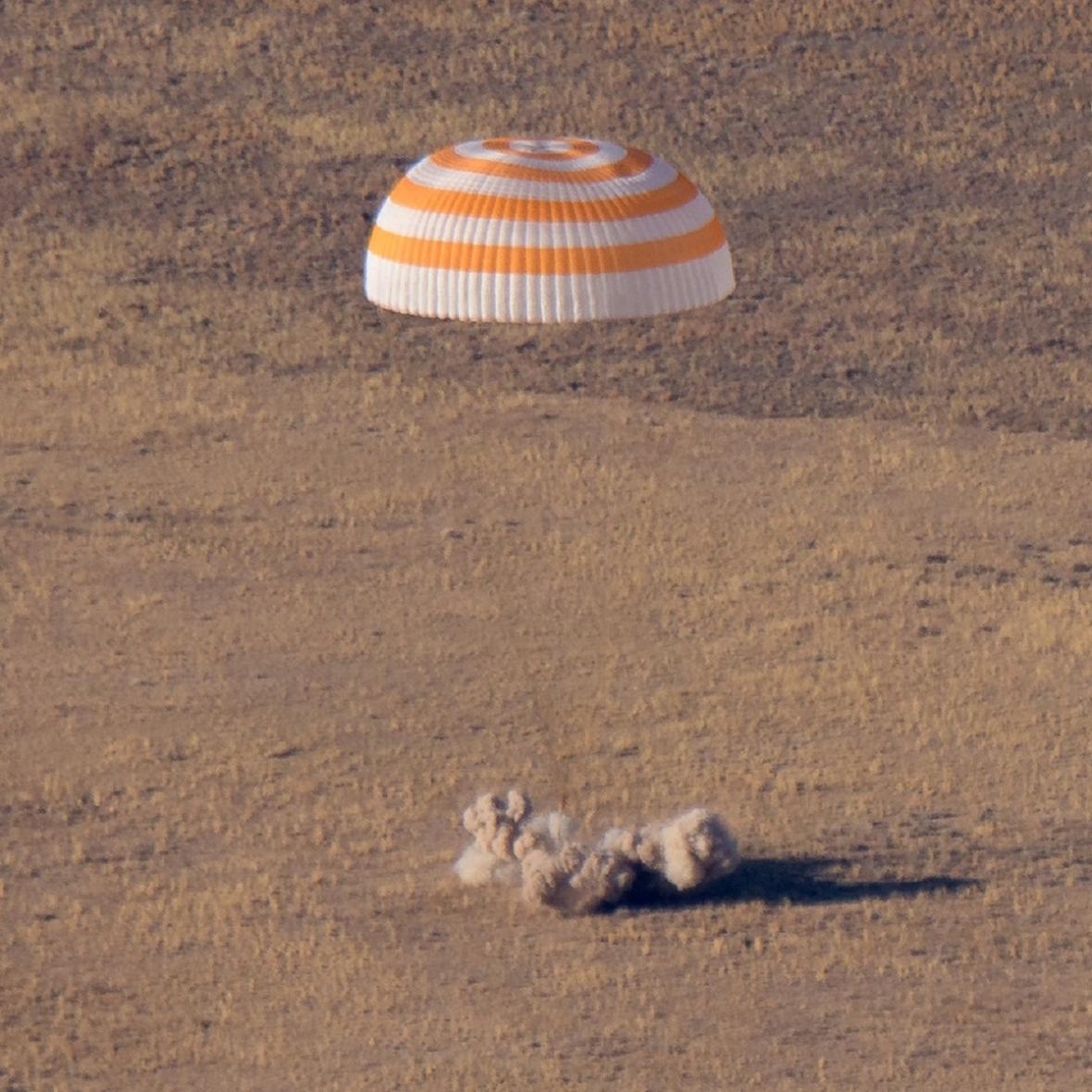 Návrat z ISS
