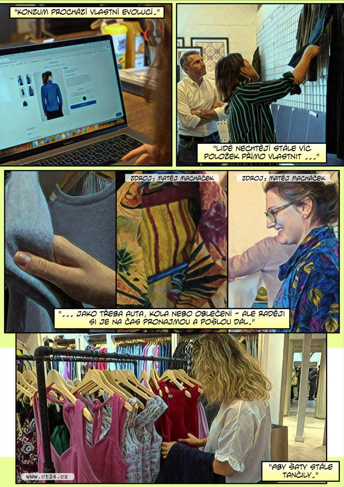 Sdílení oblečení