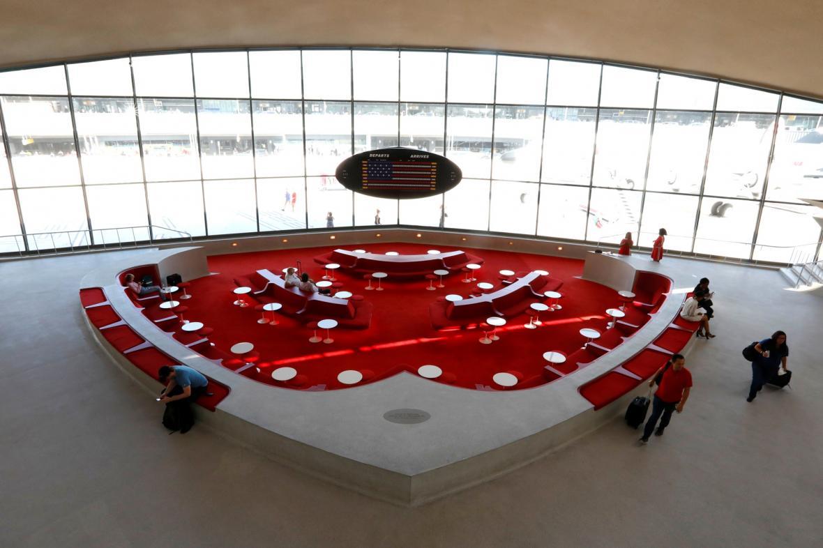 Obnova Letiště architekta Eero Saarinen