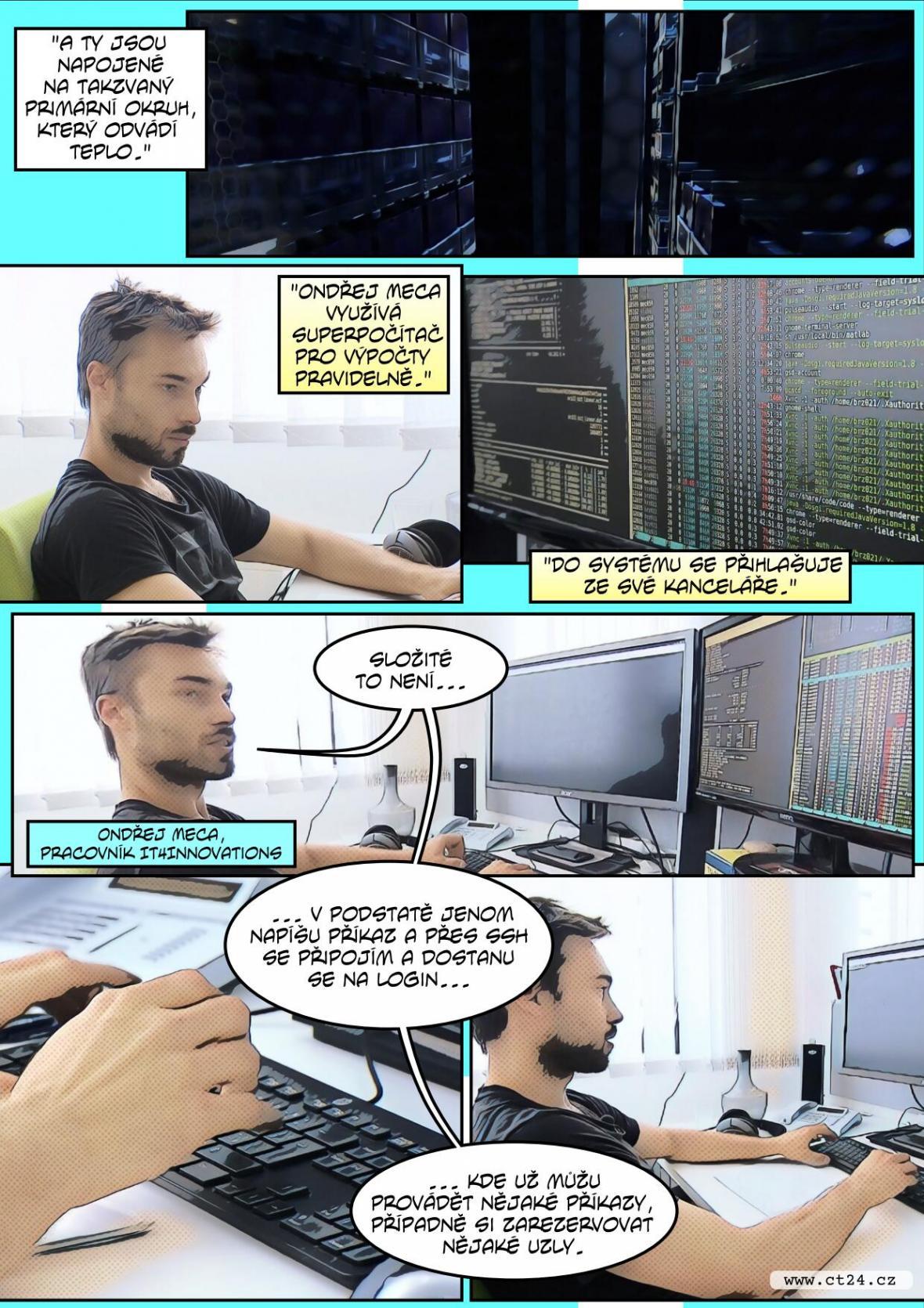 Nový superpočítač Barbora