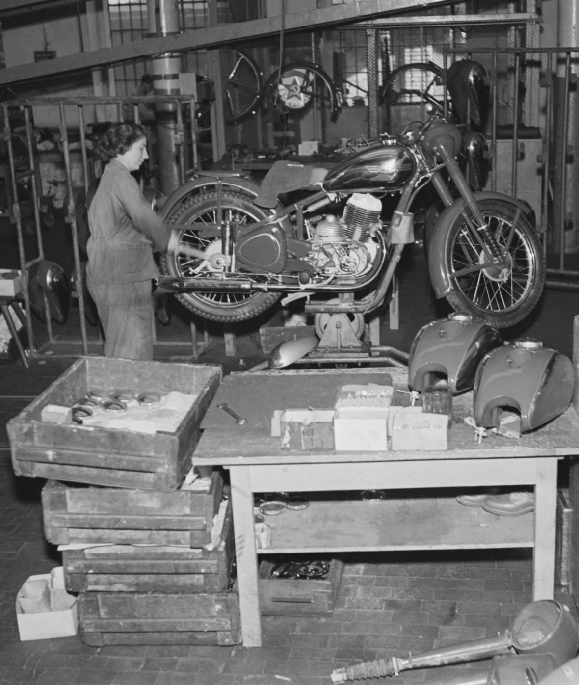 Historie motocyků Jawa