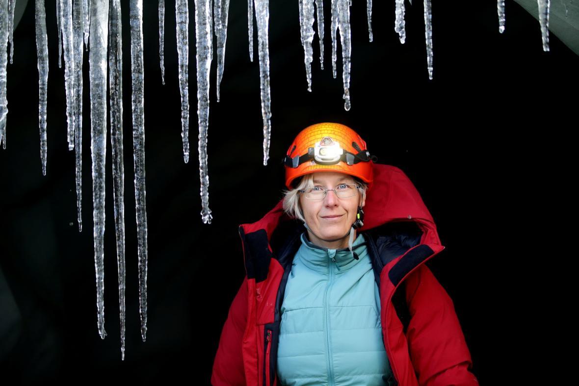 Výzkum ledovců v Alpách