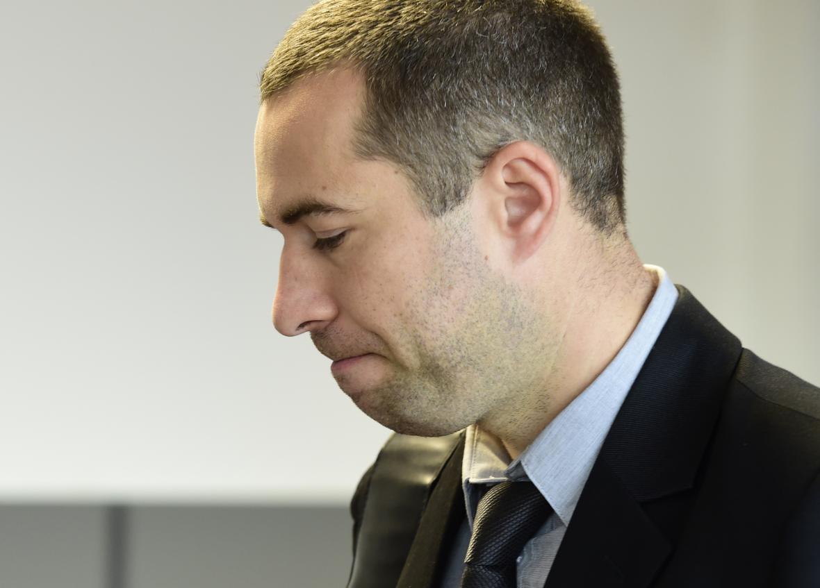 Tomáš Pantlík u krajského soudu