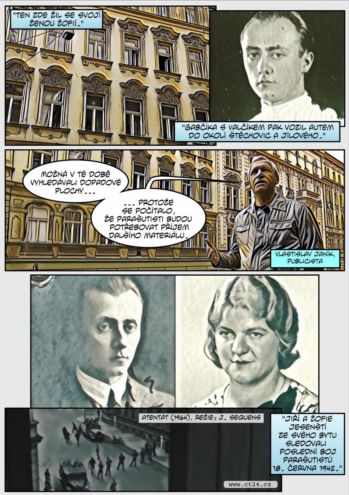 Příběh hrdinství. Manželé Jesenští patřili do protinacistického odboje
