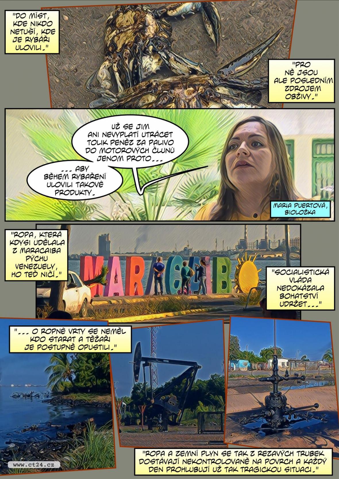 Jak ropa škodí venezuelské oblasti Maracaibu?