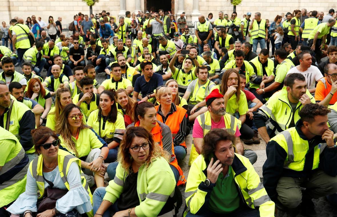 Katalánsko ochromila generální stávka