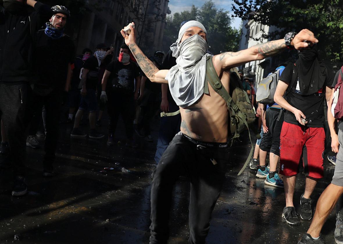 Nepokoje v Chile