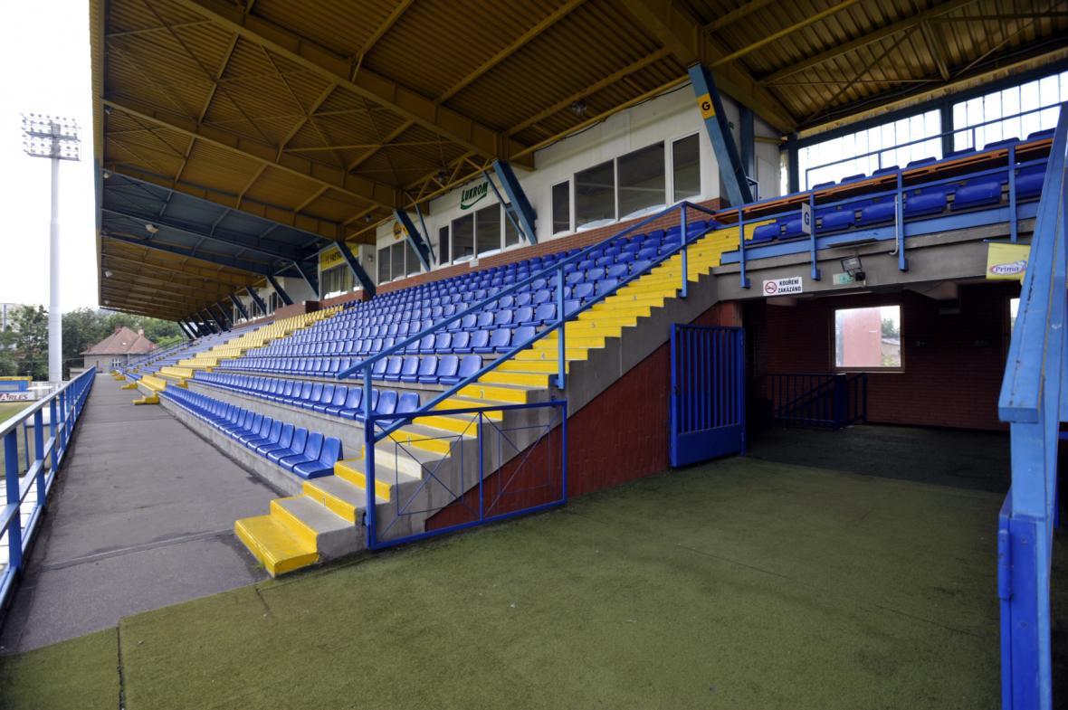 Fotbalový stadion na Letné ve Zlíně