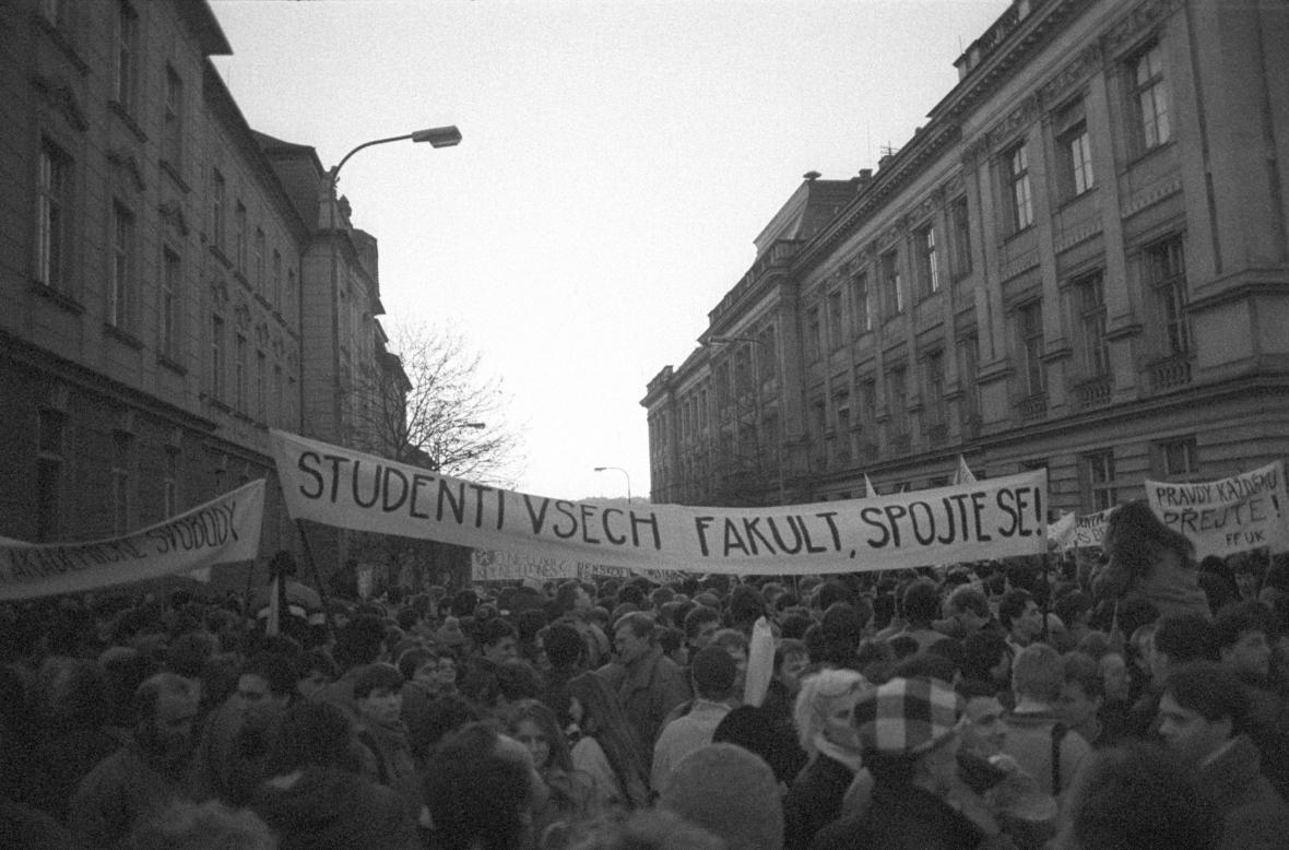 Praha 17. listopadu 1989