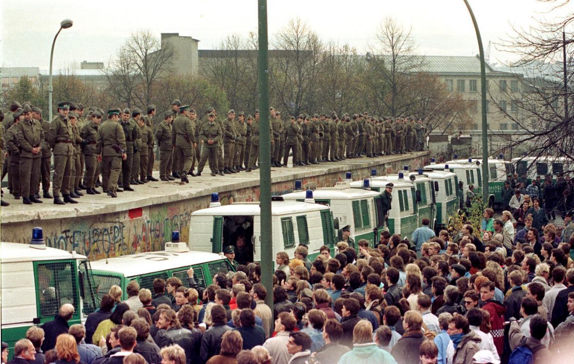 Pád Berlínské zdi