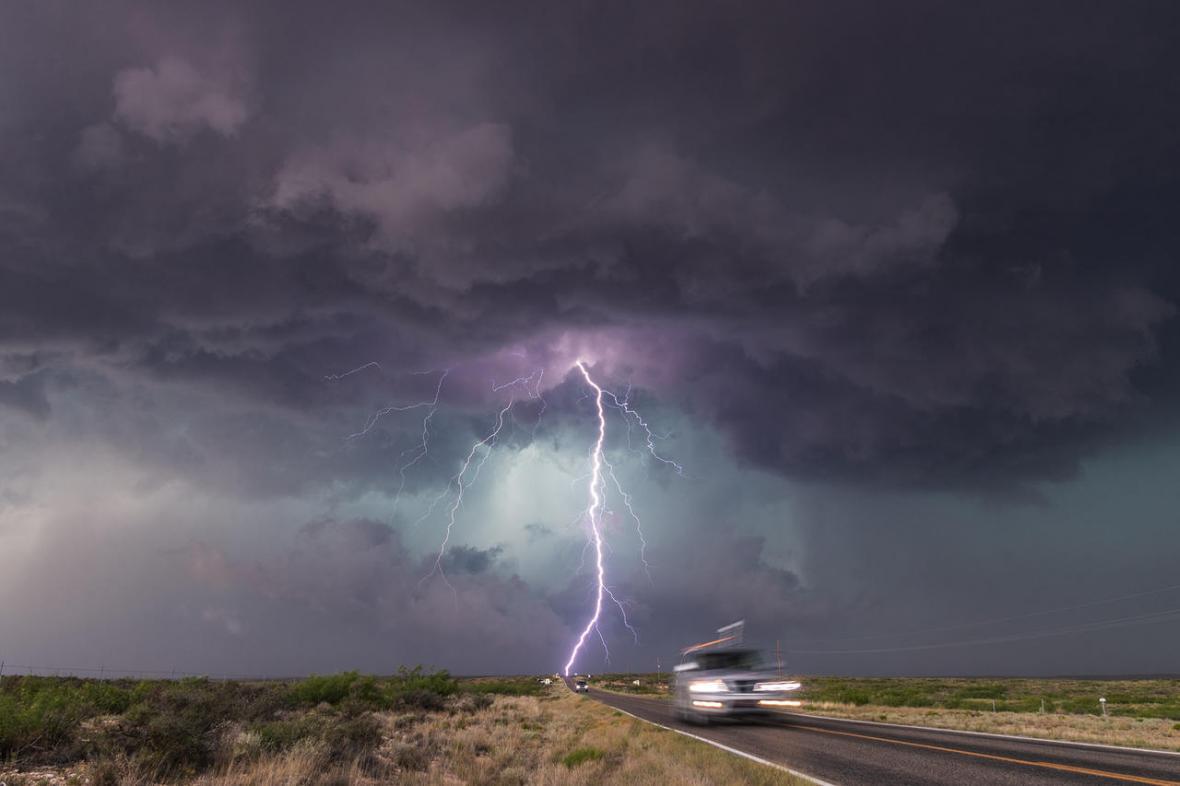 Nejlepší fotografie počasí za rok 2019, oceněný snímek