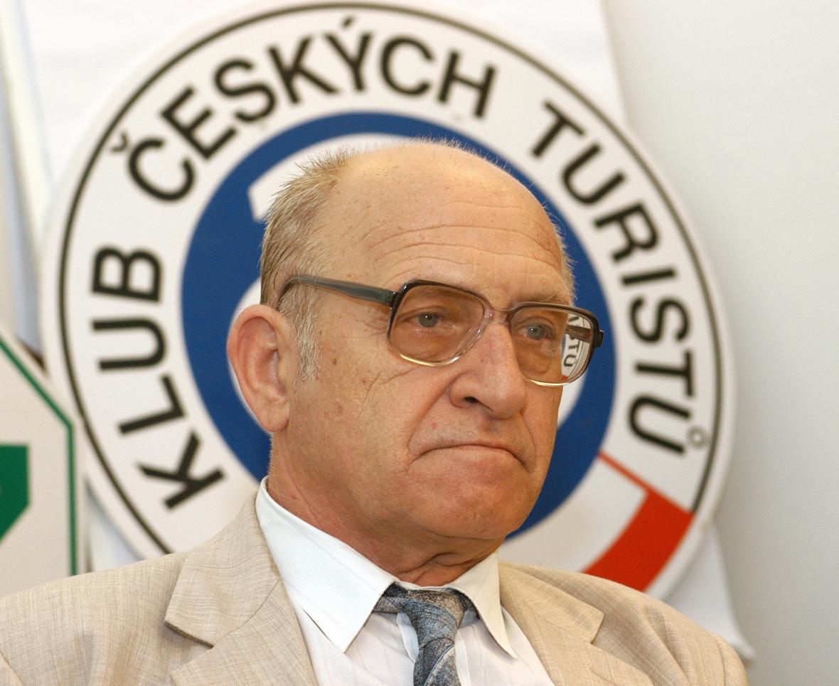 Jan Stráský stál v čele Klubu českých turistů