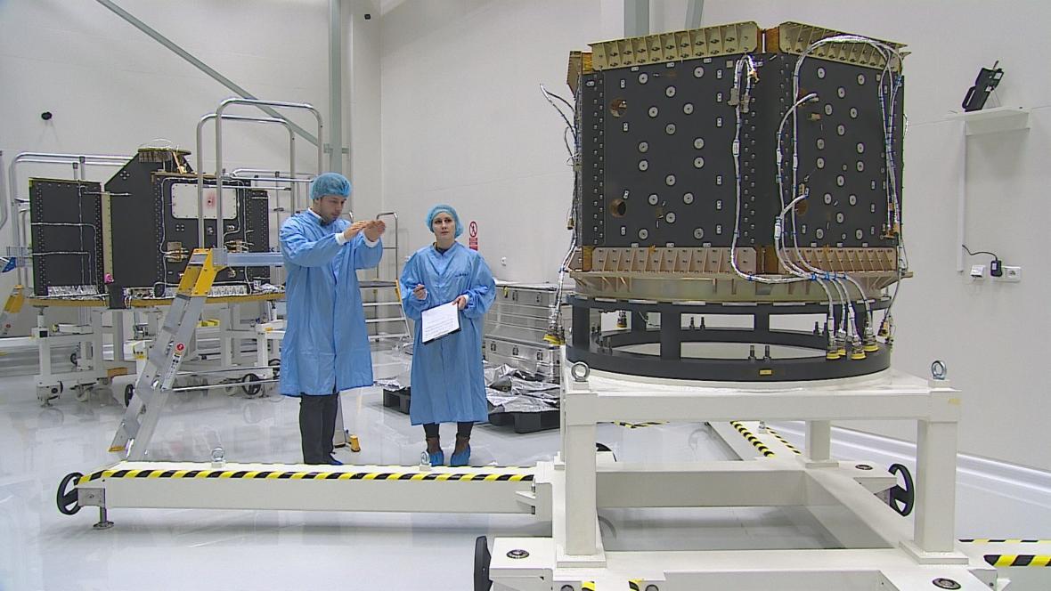 Družicový dispenser rakety Vega staví brněnská firma