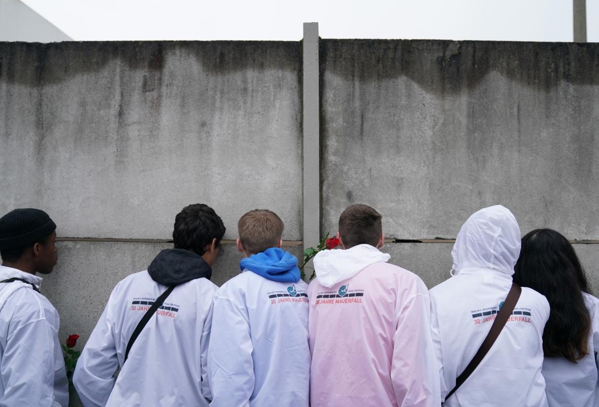 Německo si připomíná výročí pádu Berlínské zdi