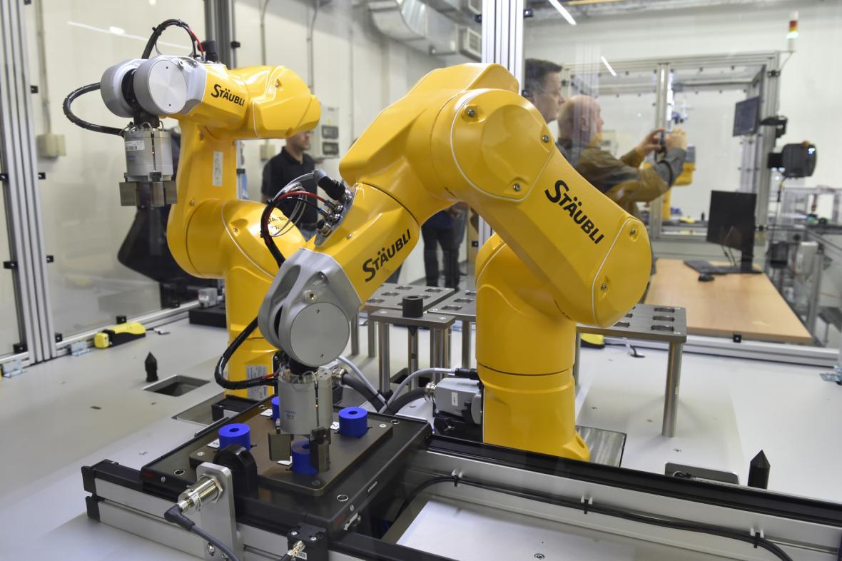 Laboratoř robotických systémů na Univerzitě Tomáše Bati
