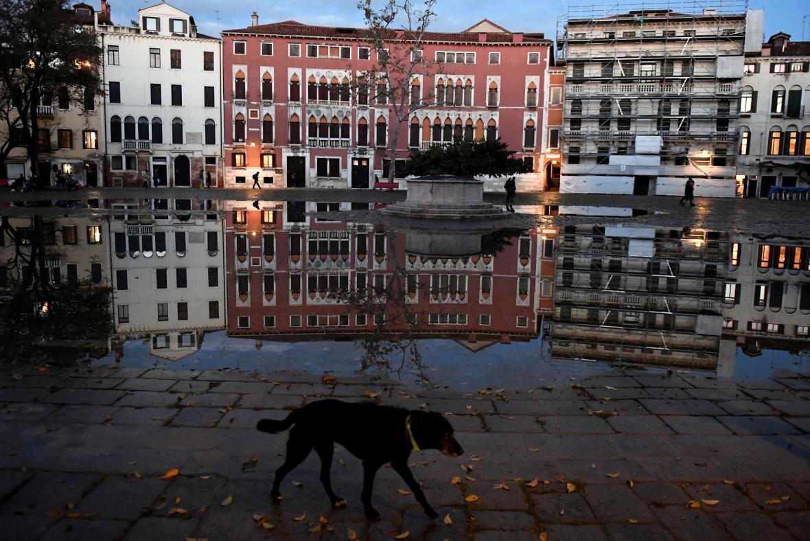 Benátky trápí vysoká voda