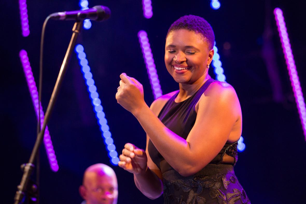 Americká zpěvačka Lizz Wrightová na šumperském festivalu Blues Alive