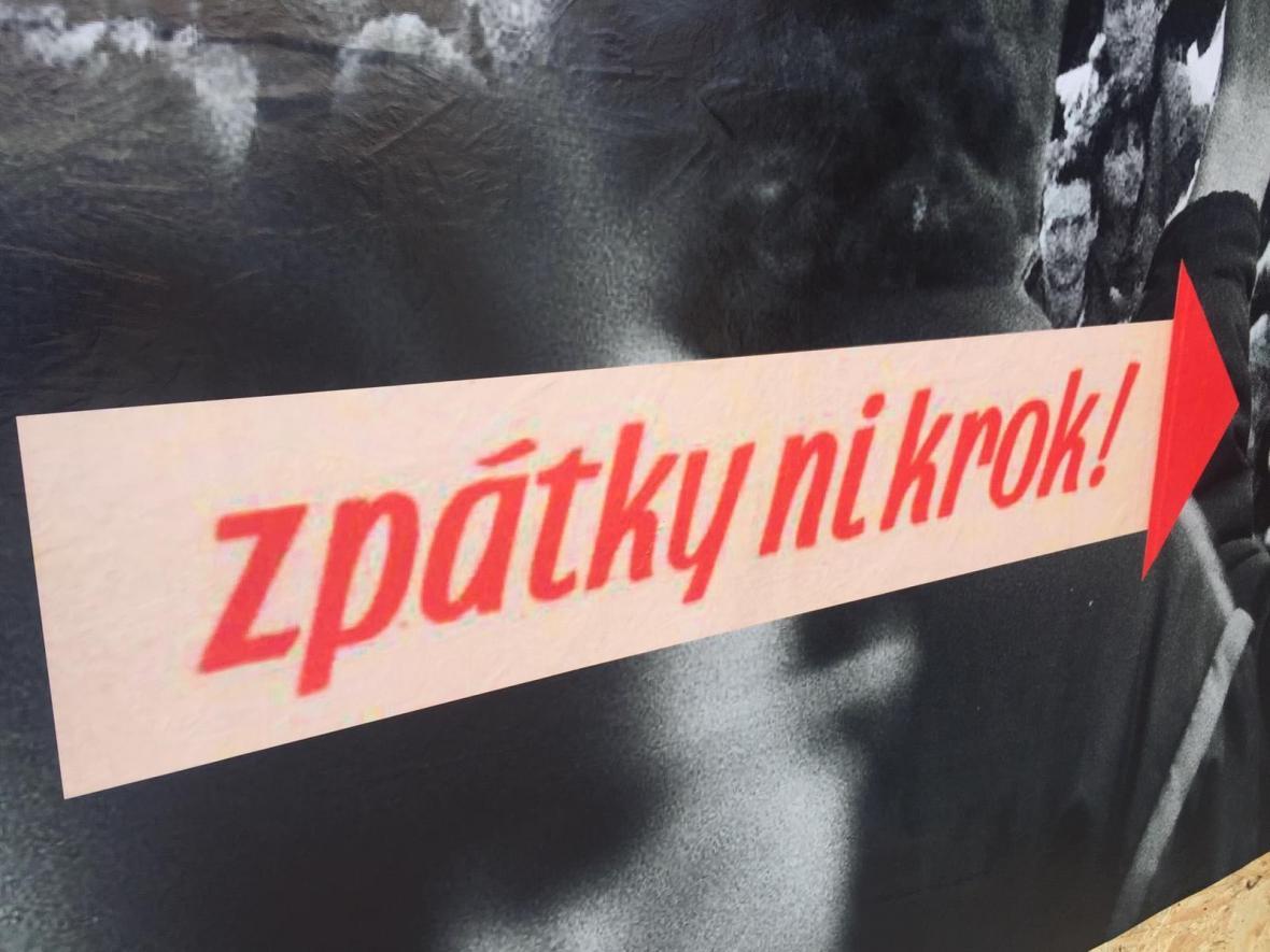 Akce SametOVA na Masarykově náměstí v Ostravě