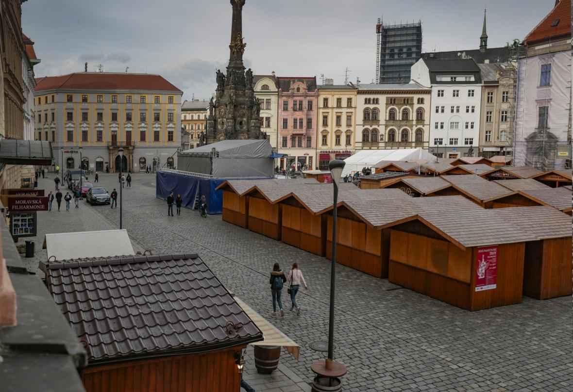 Sametová revoluce očima fotografů v Olomouci
