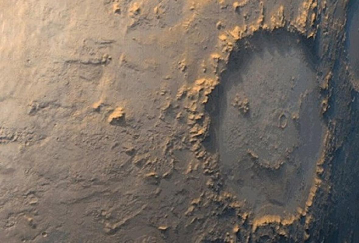 Smajlík na Marsu