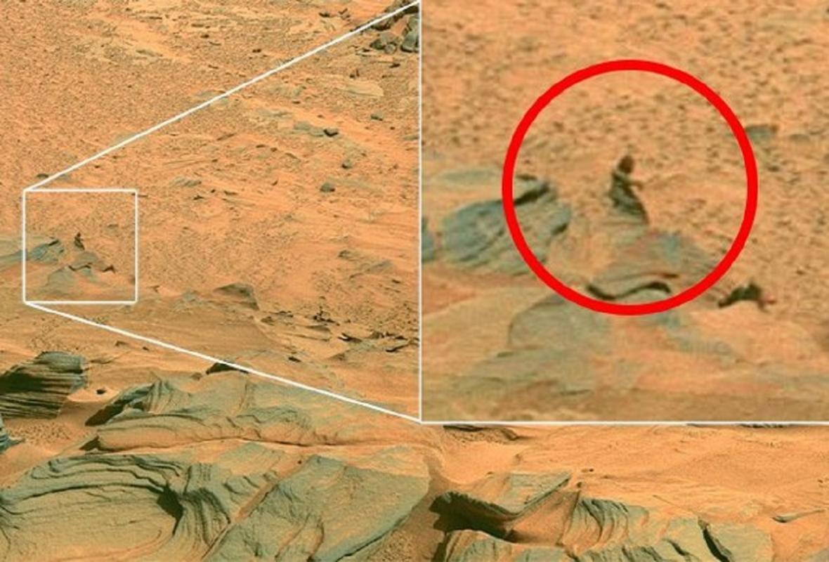 Yetti na Marsu