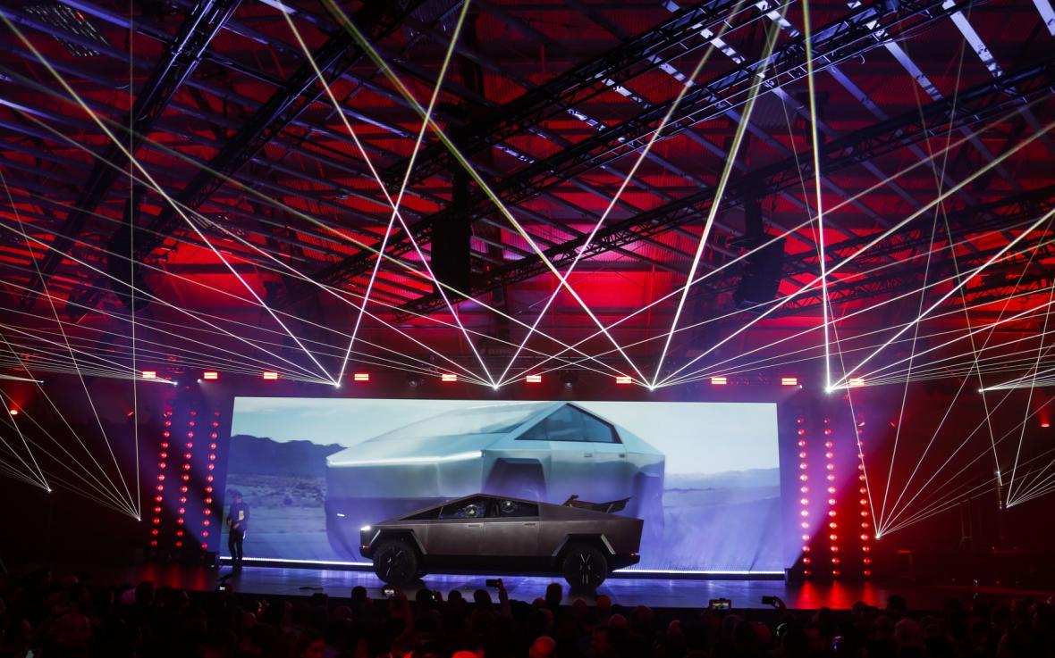 Představení vozu Tesla Cybetruck